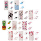 For Huawei Honor 8 Transparent Painted Bumper Soft Silicone Fashion Case Cover