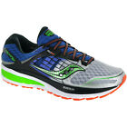 NIB Saucony Triumph ISO 2 Men's Running Shoes Blue-Silver-Slime Med & Wide width