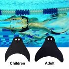 Adult Kid Child Mermaid Tails Swimming Diving Monofin Swimmable Fin Flippers