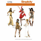 Simplicity SEWING PATTERN 1770 Flapper,Egyptian,Cavegirl,Greek,Indian Costume