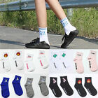 Women Socks Fun Socks Cartoon Print Cotton Socks Lovely Cute Casual Fashion