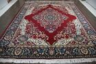 Traditional Vintage Persian Large  9.7 X 12.2 Area Rugs Oriental Rug Carpet