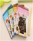 DIY Graffiti Notebook Scratch Paper Note Drawing Stationery forKid Educational R