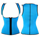 Women Sport Slimming Neoprene Vest Hot Sweat Shirt Body Shapers for Weight Loss