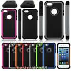 For iPhone 5 5S Shockproof Hybrid Heavy Duty Rugged 3 layers Case Cover skin