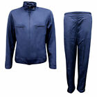 Nike Swoosh Womens Nylon Regular Fit Full Tracksuit Navy R9E
