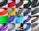 "6MM 1/4"" Wide TIGHT Braided PET Expandable Sleeving Cable Wire Sheath 5M/25M"