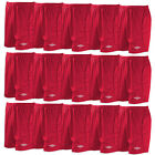 Umbro Men's Premier Football Shorts Soccer Team Match Kit 5 10 15 Pairs Blue Red