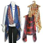Accents by Lavello Chiffon Vest, Top, Scarf, Wrap, NWT
