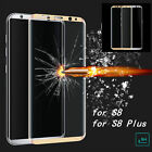 For Samsung Galaxy S8 S8 Plus 3D Full Cover Tempered Glass Screen Protector Film