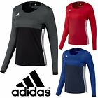 adidas Womens T16 Climacool Sports Long Sleeve T-Shirt Running Gym Jersey Top