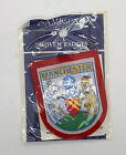 Sampsons Woven Manchester Felt Badges Available In Blue Or Red In 5 Or 10 Badges