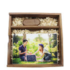 custom wedding photography logo walnut wood USB2.0/3.0 pen drive + photo box