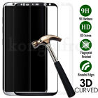 For Samsung Galaxy S8 S8 Plus 3D Full Cover Tempered Glass Film Screen Protector