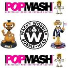 POPMASH & FUNKO WACKY WOBBLERS, Collectible Figurines, Bobbleheads, Celebrities