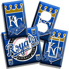 KANSAS CITY ROYALS BASEBALL LOGO LIGHT SWITCH OUTLET COVER WALL PLATE MEN CAVE on Ebay