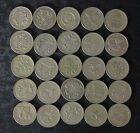 Lot: 25 Pound Face Value Great Britain UK Pound Coins Collection - No Reserve