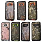 10pcs/lot Camouflage Hybrid 3 in 1 Armor Case For Samsung Galaxy S8 S8 plus
