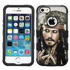 Caribbean Pirates #V Hybrid Armor Case for iPhone SE/6S/7/Plus/Galaxy S7/S8/Plus