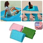 200x200cm Sand Free Beach Mat Outdoor Camping Picnic Mattress Pad US Seller