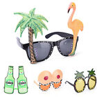 Funny Hawaiian Tropical Sunglasses Glasses Summer Fancy Dress Party Costume
