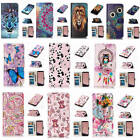 For Samsung Galaxy S8 Relievo 3D Varnish PU Leather Flip Card Wallet Case Cover