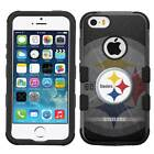 Pittsburgh Steelers # Hybrid Armor Case for iPhone SE/6/7/Plus/Galaxy S7/S8/Plus