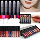 12 Colors Popfeel Cosmetics Soft Matte Lip Liquid Gloss Lipstick Long Lasting