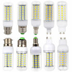 1X 10X E27 ES B22 BC E14 G9 GU10 LED Corn Bulbs 5730 SMD White Lamp 220V Light