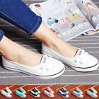 New Sneakers Running Breathable Leisure Ladies' Flats Casual Canvas Shoes UK