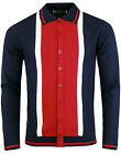NEW MADCAP ENGLAND MOD RETRO 60s MENS MARRIOTT FAUX SUEDE POLO CARDIGAN MC200