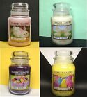 YANKEE CANDLE Large 22 oz Jars HAPPY EASTER Jelly Beans PEEPS Bunny Cake -CHOICE