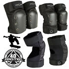 Pro Tec Street Skateboard Adult Pad Set Bike Roller Skate Knee & Elbow Guards