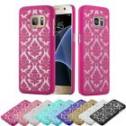 s4 mini back cover - Slim Matte Hard PC Damask Case Back Cover For Samsung Galaxy S6 S7 S8 Plus A3 A5