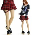 GLP PUNK DOLLY gothic CHECKER 61273 PANTIES PLEATED SKIRT S