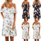 Evening Party Maxi short mini Dress Women summer Floral lace beach slip dress