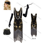 1920s Flapper Evening Formal Club Dress Gatsby Wedding Party Roaring 20s Costume