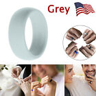 5X Silicone Wedding Engagement Ring Men Women Rubber Band Outdoor Sport Flexible