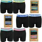 Mens 2 Pack Boxed Boxer Shorts by Tokyo Laundry 'Helston'