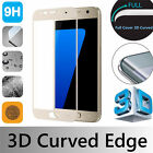 Gold 3D Full Cover Gorilla Tempered Glass Screen Protector For Samsung Phones