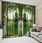 3D Courtyard 32 Blockout Photo Curtain Printing Curtains Drapes Fabric Window CA