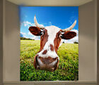 3D Funny Cow 1 Wall Paper Wall Print Decal Wall Deco Indoor Wall Mural Wall