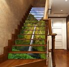 3D Vertical Falls 4 Stair Risers Decoration Photo Mural Vinyl Decal Wallpaper UK