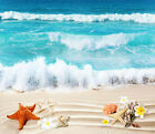 3D Sandy Beach Ocean 2 Floor WallPaper Murals Wall Print Decal 5D AJ WALLPAPER