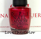 OPI HOLIDAY LACQUER COLLECTION(S) 2001-2016 Full Size Nail Polish Color Choice