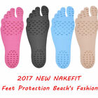 2017 NAKEFIT Sticker Shoes Stick on Soles Sticky Pads for Feet Beach Anti-slip