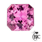 BJC® Loose Natural Pink Sapphire Asscher Cut 4.50mm 0.60ct Natural Stones