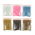 1200pcs Lots 2mm Glass Beads Seed Pearls Round Spacer For Jewelry Making DIY