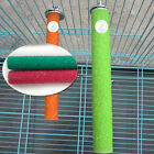 1PC 10/14/18CM Pet Bird Parrot Chew Toys Paw Grinding Cage Stand Perches Budgie