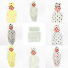 Soft Baby Floral Hat Bow Tie Flowers Blanket Swaddle Headband Set Clothing